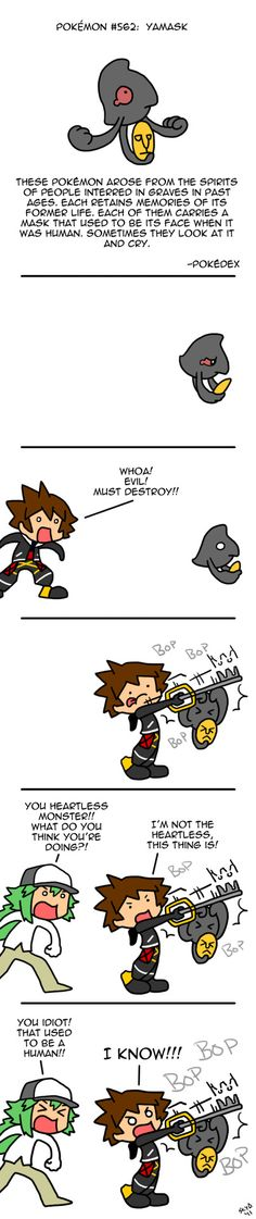 Pokemon crossover with Kingdom Hearts. If anyone wants to discuss this, I'm fine. I'll talk.