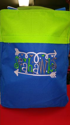 Seahawks bag