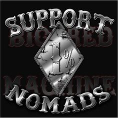 Hells Angels MC Nomads Support 81 Tshirt 1% in black - Hells Angels Motorcycle Club Nomads-Support 81 World-Support Your Local Big Red Machine
