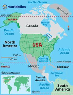 World Continents Map Simple Clicks Of The Mouse Will Take You - Us map with oceans