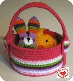 Jam made Easter Basket « The Yarn Box