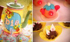 Decoração festa de aniversário infantil - Alice in the Wonderland