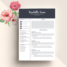 Download Professional Resume Template CV @creativework247