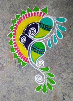Embroidery patterns mandala fun 55 ideas for 2019 Rangoli Borders, Rangoli Border Designs, Rangoli Patterns, Rangoli Ideas, Rangoli Designs Diwali, Diwali Rangoli, Beautiful Rangoli Designs, Kolam Designs, Rangoli 2017
