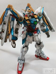 GUNDAM GUY: MG 1/100 Wing Gundam - Painted Build