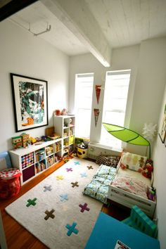 An exceptionally adorable child's room