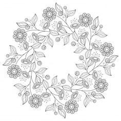 Flower Embroidery Pattern Coloring pages for adults, flowers, plants. Printable coloring books for adults and teens. - Coloring pages for adults, flowers, plants. Printable coloring books for adults and teens. Pattern Coloring Pages, Flower Coloring Pages, Mandala Coloring, Coloring Book Pages, Printable Coloring Pages, Embroidery Patterns Free, Embroidery Designs, Flower Embroidery, Book Flowers