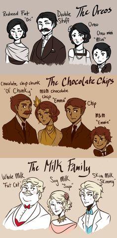 The Cookie Mobster Families | CookieKhaleesi