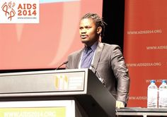 Ifeanyi Orazulike at #AIDS2014/PHOTO-Roger Pebody