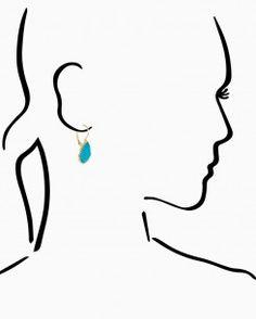 Teardrop Treasure Earrings