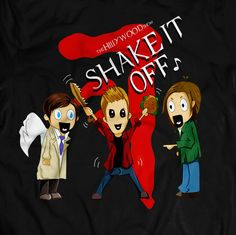 SHAKE IT OFF DEAN TEE | The Hillywood Shop