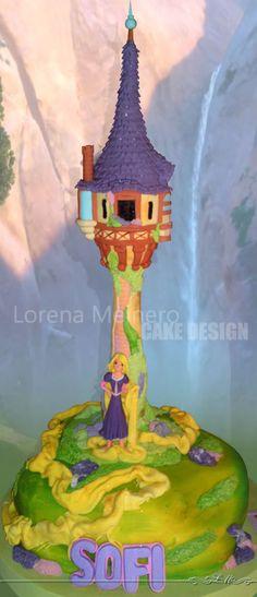 RAPUNZEL_Tortas Decoradas | Lorena Meinero
