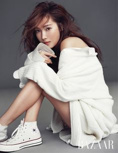Jessica Jung Poses for Harper's Bazaar | Koogle TV