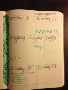 School Supply Dance: DIY Planner Layouts: Now with DIY Washi-Tape.