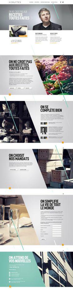acolytes webdesign #webdesign #it #web #design #layout #userinterface #website #webdesign < repinned by alexander-kaiser | Visit my website www.kaiser-alexander.de
