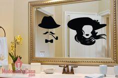 2255430ada1 8 melhores imagens de Adesivos para Banheiro