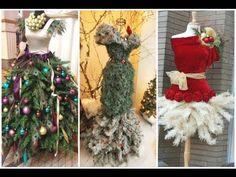 2015 -2016 Christmas Tree Dress Form Ideas - YouTube