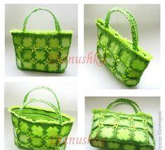 Todo para Crear ... : bolso reciclado en crochet