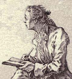 Chodowiecki, Daniel 1726-1801, self portrait, 1758,
