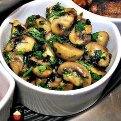 Spanish Garlic Mushrooms