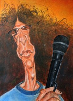 Howard Stern (by Paul Alexander)