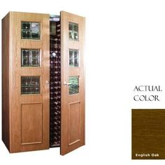 Vinotemp Vino-700empireb-engoak Empire 440 Bottle Wine Cellar With Beveled Glass Design - Glass Doors / English Oak Cabinet by Vinotemp. $7479.00. Vinotemp VINO-700EMPIREB-ENGOAK Empire 440 Bottle Wine Cellar With Beveled Glass Design - Glass Doors / English Oak Cabinet. VINO-700EMPIREB-ENGOAK. Wine Cellars. Vinotemp Wine Cellars are all-in-one wine storage solutions hand-crafted with domestic woods in Southern California. They maintain an ideal environment for both s...