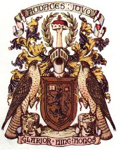 The Buchanan Society, Glasgow, Coat of Arms - purely a charitable society now