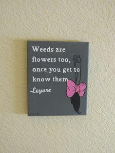 Says Eeyore.