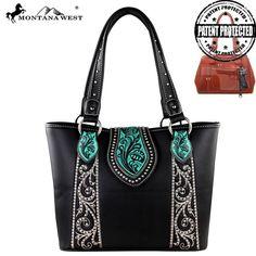 Montana West Concealed Handgun Genuine Leather Handbag (MW307G-8317) – Handbag-Addict.com