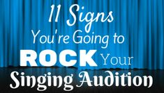 11 Signs You're Going to Rock Your Vocal Audition (in GIFs! Singing Classes, Singing Lessons, Singing Tips, Singing Auditions, Alone Life, Feeling Under The Weather, Online Lessons, Review Games, How To Treat Acne