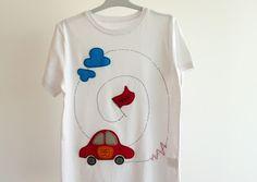 Camiseta de fieltro