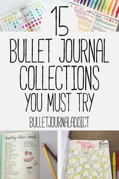 **CHECK** Bullet Journal Collections - Bullet Journal Inspiration for Collections to Try in Your BuJo - 15 Must Have Bullet Journal Collections Bullet Journal Must Haves, Bullet Journal Hacks, Bullet Journal How To Start A, Bullet Journal Mood, Bullet Journal Spread, Bullet Journal Layout, Bullet Journal Ideas Pages, Bullet Journal Inspiration, Journal Pages