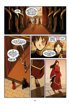 Avatar - The Last Airbender - Smoke and Shadow Part 1 - Imgur SHE CALLS HIM ZUZU.