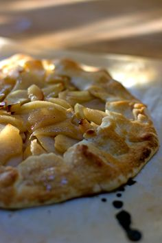 Foraged Pear Galette