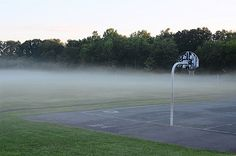 "AccuFan Weather Photo of the Day: Fog in Cliffwood Beach, N.J., by ""hpaich"" 8/4/13."