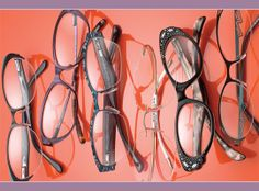 3097d239780 From left  BCBGMAXAZRIA Victoria from ClearVision Optical  BALMAIN 1020 from  L Amy America  TAKUMI 946 from Aspex Eyewear  SPX ART + 4396 from  Silhouette  ...