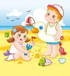 Summer Activities For Kids, Math For Kids, Diy For Kids, School Board Decoration, School Decorations, Summer Cartoon, Cartoon Kids, Picture Story For Kids, Math Addition Worksheets
