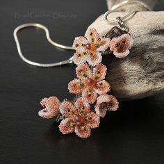 Cherry blossom branch pendant