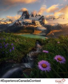 Gorgeous shot of the Cascade Range in British Columbia, Canada!