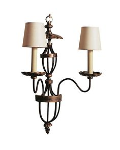 Classical Style Wall Sconce with Slim Design