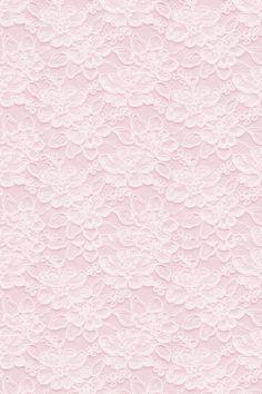Pastel Pink Lace