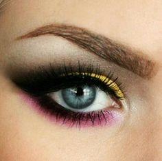 Rosa, negro y amarillo