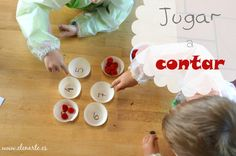 Jugar a contar. - Elenarte Tudor, Desserts, To Tell, Read And Write, Classroom, Diary Book, Activities, Tailgate Desserts, Deserts