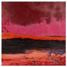 Canvas - Abstract Pink Sky