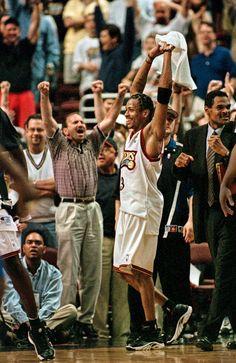 Triumph : Classic photos of Allen Iverson