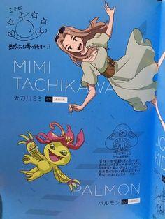 Digimon adventure tri Mimi tachikawa & palmon  @bluecttncndy