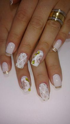 healthy meals for dinner easy meals ideas free Aycrlic Nails, Hot Nails, Square Nail Designs, Nail Art Designs, Plaid Nails, Beautiful Nail Designs, Square Nails, Flower Nails, Cookies Et Biscuits
