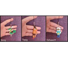 Oshawott Snivy Tepig Polymer Clay Charm Pokemon Figure Dust Plug #pokemon #tepig #snivy #oshawott #charm #dustplug #polymerclay #kawaii #cute #chaycrafts Polymer Clay Figures, Polymer Clay Charms, Pokemon Starters, Dust Plug, Plugs, Crafting, Kawaii, Charmed, Etsy