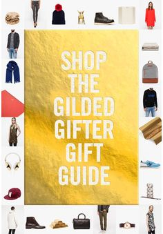 Shop The Gilded Gifter Gift Guide