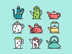 Teapot by vecteezy